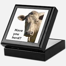 Have you herd? Keepsake Box