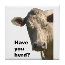Have you herd? Tile Coaster