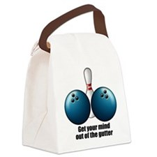 Mind out of Gutter Canvas Lunch Bag