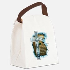 GodsPlan copy Canvas Lunch Bag