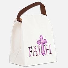 Woman of Faith Canvas Lunch Bag