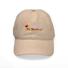 Fort Myers - Beach Design. Baseball Cap