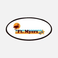 Fort Myers - Beach Design. Patches