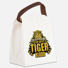 Tiger Blood copy.png Canvas Lunch Bag