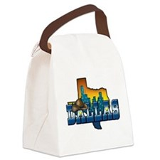 Dallas.png Canvas Lunch Bag