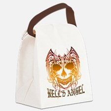 Angelic Skull.png Canvas Lunch Bag
