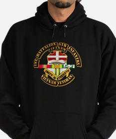 Army - 1-6th INF w Vietnam SVC Ribbons Hoodie