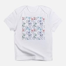 Bicycles Pattern - Infant T-Shirt