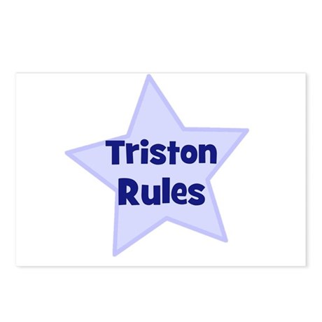 Triston Rules Postcards (Package of 8)