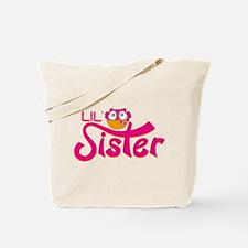 Lil Sister Owl Tote Bag