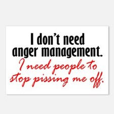 Anger Management Postcards (Package of 8)