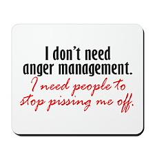 Anger Management Mousepad