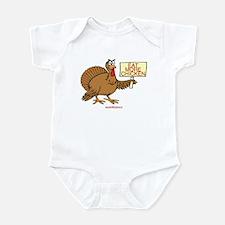 EAT MORE CHICKEN Infant Bodysuit