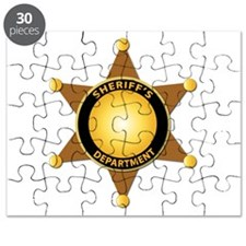 Sheriff's Department Badge Puzzle