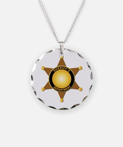 Sheriff's Department Badge Necklace