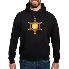 Sheriff's Department Badge Hoodie