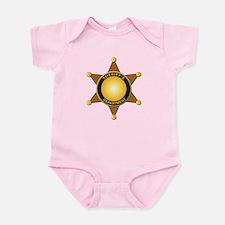 Sheriff's Department Badge Infant Bodysuit