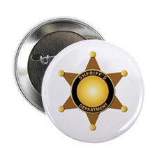 """Sheriff's Department Badge 2.25"""" Button"""