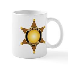 Sheriff's Department Badge Mug