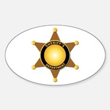 Sheriff's Department Badge Decal