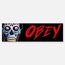 Obey Bumper Bumper Sticker