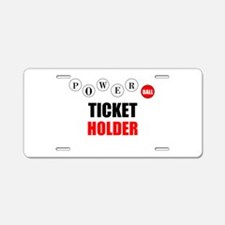 Powerball Aluminum License Plate