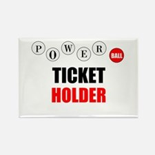 Powerball Rectangle Magnet