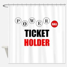 Powerball Shower Curtain