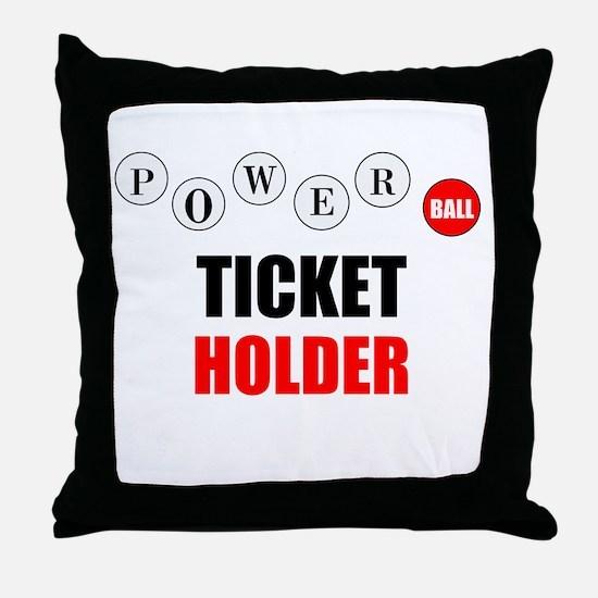 Powerball Throw Pillow