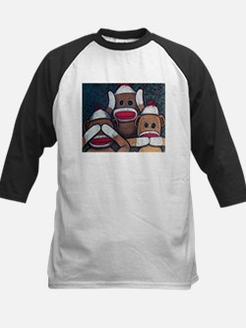 See No Evil Sock Monkeys Baseball Jersey