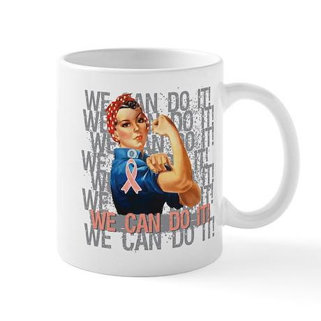 Rosie Riveter Uterine Cancer Mug