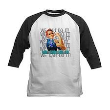 Rosie The Riveter Thyroid Cancer Baseball Jersey