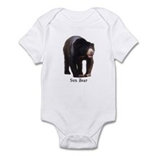 sun bear Infant Bodysuit