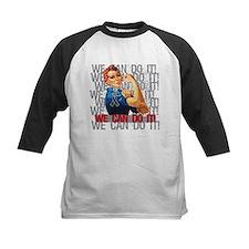 Rosie The Riveter Skin Cancer Baseball Jersey