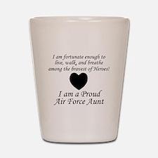 AF Aunt Fortunate Shot Glass