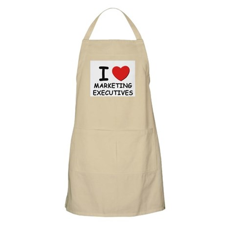 I love marketing executives BBQ Apron