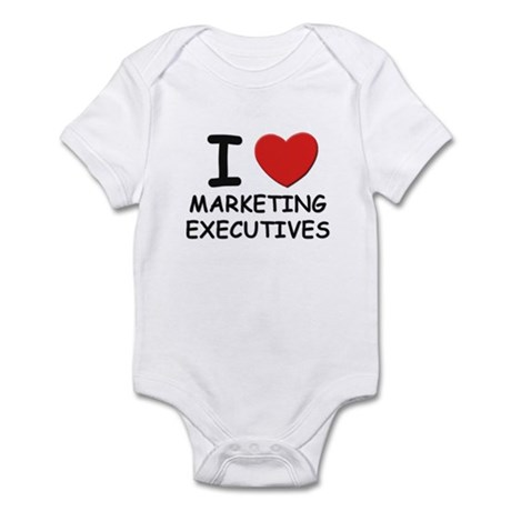 I love marketing executives Infant Bodysuit