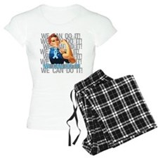 Rosie The Riveter Prostate Cancer Pajamas