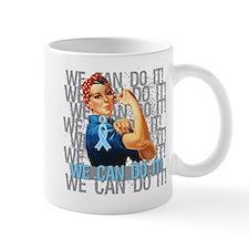 Rosie The Riveter Prostate Cancer Mug