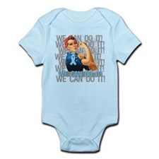 Rosie The Riveter Prostate Cancer Body Suit