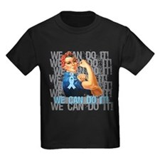 Rosie The Riveter Prostate Cancer T-Shirt