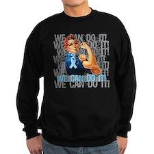 Rosie The Riveter Prostate Cancer Sweatshirt