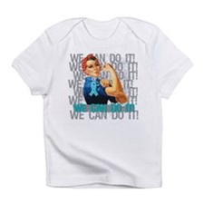 Rosie The Riveter Peritoneal Cancer Infant T-Shirt