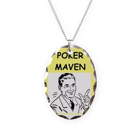 Poker card necklace