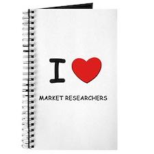 I love market researchers Journal