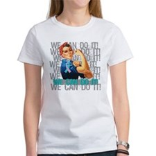 Rosie The Riveter Thyroid Cancer T-Shirt