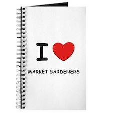 I love market gardeners Journal