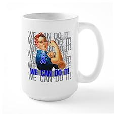 Rosie Riveter Colon Cancer Mug