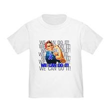 Rosie Riveter Colon Cancer T-Shirt