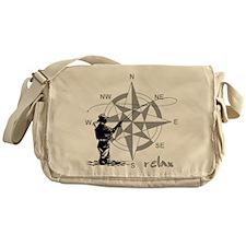 Fly Fishin Messenger Bag